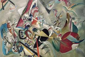 In The Gray - Kandinsky