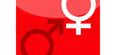 Жените са бели, а мъжете – червени!